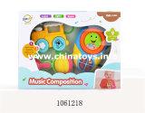 음악 (1061225)를 가진 플라스틱 만화 아기 장난감 기타