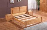 Camas matrimoniales modernas de la cama de madera sólida (M-X2237)