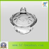 Ciotola di vetro di disegno con la buona cristalleria Kb-Hn0370 di prezzi