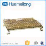 Складные Stackable стальные клетки пакгауза