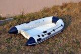 Barco da fibra de vidro do reforço da casca da fibra de vidro de Liya 4.0m para a venda