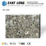 Pierre artificielle de quartz avec la configuration de granit pour des partie supérieure du comptoir