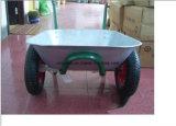 Il doppio galvanizzato di buona qualità del cassetto spinge la carriola (Wb6407)