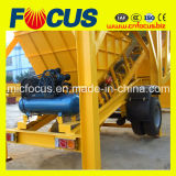 Planta de tratamento por lotes concreta móvel automática Yhzs75 do controlo 75cbm/H
