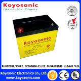 precio 12V 7ah de la batería de la UPS de 12V 7ah UPS de la batería de la pila seca de la batería de 20 horas