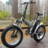 48V 500W 20 '' Fat Tire plegable Playa Nieve bicicleta eléctrica