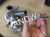 가스 또는 액체 여과를 위한 휴대용 스테인리스 47mm 필터 홀더