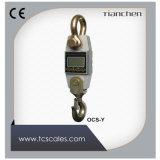 Dinamómetro Handheld impermeable del acero inoxidable con el grillo y el gancho de leva sin hilos del indicador