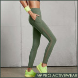 Custom Yoga Pants Fitness Mesh Tights para mulheres