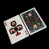 Service d'impression professionnel d'usine les deux cartes de jeu faites sur commande de côtés