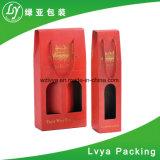 Boîte-cadeau de vin de bouteille du papier ondulé 2 de qualité