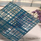 Vidrio/del vidrio laminado/emparedado del espejo gafa de seguridad impresa seda del vidrio/para la decoración
