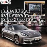 ポルシェMacanカイエンヌPanamera PCM 3.1のアップグレードの接触運行WiFiミラーリンクHD 1080P GoogleマップのためのGPSの航法システムのビデオインターフェイス