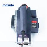 Alisadora eléctrica de trabajo de madera del banco de la máquina de DIY Makute 600W