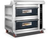 2 Plattformen 6 Tellersegmente spalteten Form-Glastür fortgeschrittenen elektrischen Spray-Ofen mit Digital-Controller für Geschäft auf (WFC-206DHAFE)