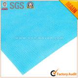 Azzurro non tessuto 100% della carta da imballaggio no. 24 L. del regalo del fiore del polipropilene