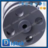 A flange levantada B16.5 da face de Didtek fura completamente a válvula de esfera da flutuação