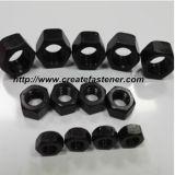 Noix hexagonale galvanisée par ISO4032 de dispositifs de fixation de construction