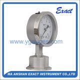 Manomètre Mesurer-Sanitaire de membrane de pression de pression spéciale de Mesurer-Membrane