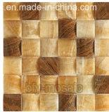 Плитка пола мозаики строительного материала мраморный (FYSL074)