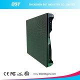 P6.25 PUNTINO locativo di alluminio dello schermo di visualizzazione della parete della fase esterna LED video SMD RGB