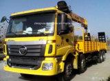 トラックのAumanの頑丈な8X4クレーン価格12トンのクレーントラックの