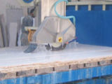 Het automatische Infrarode Graniet van de Machines van de Snijder van de Brug Scherpe Marmeren in Tegels
