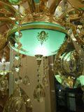 Licht van de Kroonluchter van de Stijl van Franch het Lichtgroene Gouden