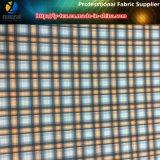 Garn-gefärbtes Gewebe des Polyester-75D/40d*75D/40d für im Freienhemd