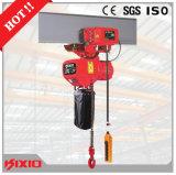 0.5 Tonnen-elektrische Laufkatze für anhebende Kettenhebevorrichtung