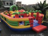 Гигантская раздувная спортивная площадка Funcity хвастуна джунглей для детей