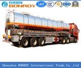 3axle roestvrije Vloeistof/Brandstof/Benzine/Tanker Oil/LPG