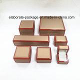 Rectángulo de joyería de madera de la calidad de Customed de la última alta calidad estupenda del estilo