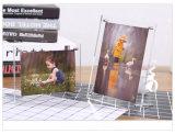アクリルの写真フレーム、映像の表示