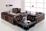 居間の家具(F27)のための最も新しい現代革ソファー