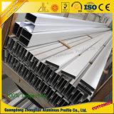 Pipe en aluminium d'aluminium de tube anodisée par profil en aluminium d'extrusion