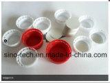 Automatische Plastikflaschenkapsel-Füllmaterial-Futter-Folie, die Maschine einschiebt
