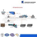 Proceso de la separación del légamo de la máquina de la recuperación de la arena que se lava de múltiples funciones