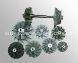 Unterseiten-Legierungs-Präzisions-Vakuumgußteil K13 713c 600 des Nickel-Ts16949 Ni-Gründete Legierungs-Präzisions-Vakuumgußteil-Pflanze