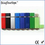 Vara plástica da memória do USB da forma mais clara (XH-USB-010)