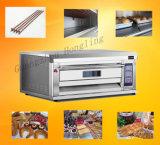 Печь палубы коммерчески оборудования хлебопекарни электрическая с 2-Tray для сбывания