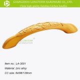 Punho dourado luxuoso para a venda