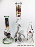 Hbking 8 polegadas American Color Downstem Baker Base Perc Glass Tubo de água fumaça