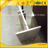 6061/6063形づけられたアルミ合金は産業構築のためのTによって突き出た