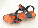 Sapatas da sandália dos homens com parte superior da tela e sola de TPR (RF16288)