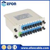 Divisor de la base del divisor 144 del PLC del ADSL 1*16 de Gpon con el encierro