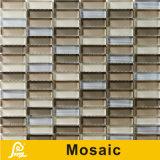 壁の装飾の地平線シリーズ(地平線S.A. 01/A02)のための熱い販売8mmの水平の組合せのクリスタルグラスのモザイク