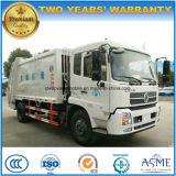 Alta calidad de 6 ruedas 12 toneladas de la basura del compresor del carro 12 de Cbm de la basura de carro del transporte