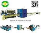Linha de produção pequena automática preço da máquina da fatura de papel de rolo do toalete