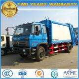 4X2 Dongfeng 15m3の無駄はトラックを15立方メートルの屑の圧縮機械のトラック集める